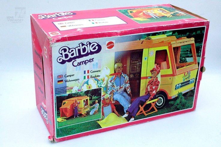 MATTEL Barbie Camper - cyan74.com vintage & pop culture