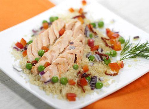 Couscous integrale con Salmone Rio Mare - Ricetta