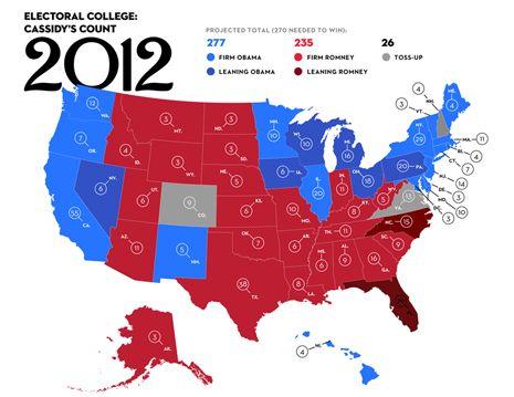 Mapa electoral 2012 elecciones de los EE.UU. haz clic en la imagen.