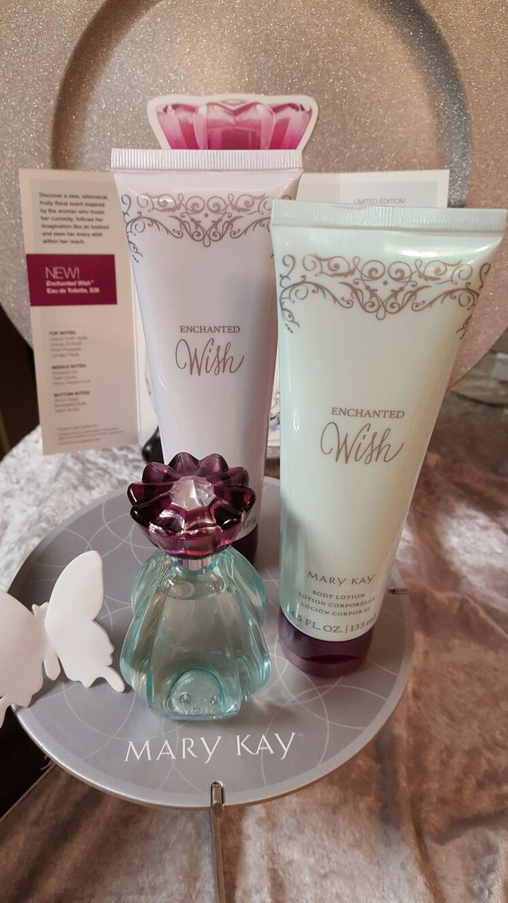 Mary kay 2017 Spring products are in! I'm loving the new Enchanted Wish eau de toilette! Such a fresh new scent! Pair it with the shower gel and body lotion! Yum! Jflis@marykay.com