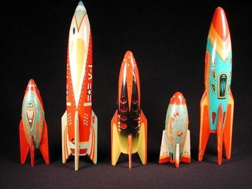 Rocket toys.