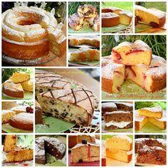Raccolta di torte soffici per prima la colazione, tutte buonissime e semplici da preparare! alla frutta, al cioccolato o farcite con creme golose!