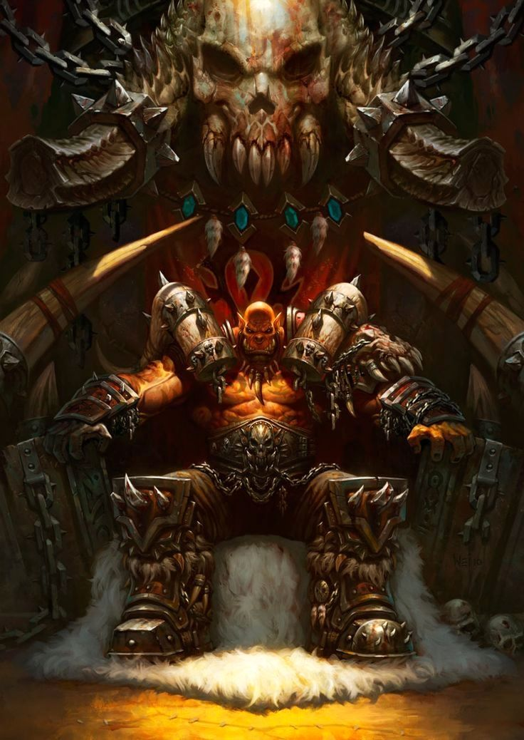 Garrosh Hellscream - Characters & Art - #Hearthstone: Heroes of Warcraft