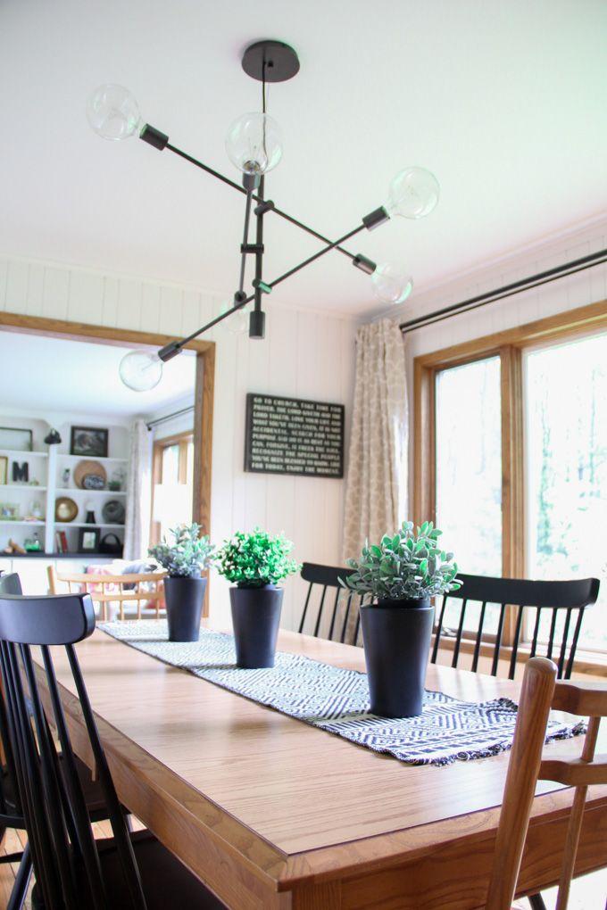 Summer Home Tour410 best Dining Room  Vintage Modern images on Pinterest   Dining  . Modern Home Dining Rooms. Home Design Ideas