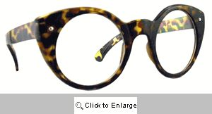 Mambo Retro Cat Eye Glasses - 469C Tortoise