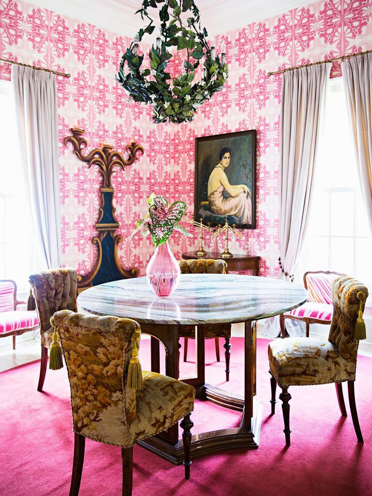 Great 208 Best Pink Dining Rooms Images On Pinterest | Pink Dining Rooms,  American Graffiti And Architects