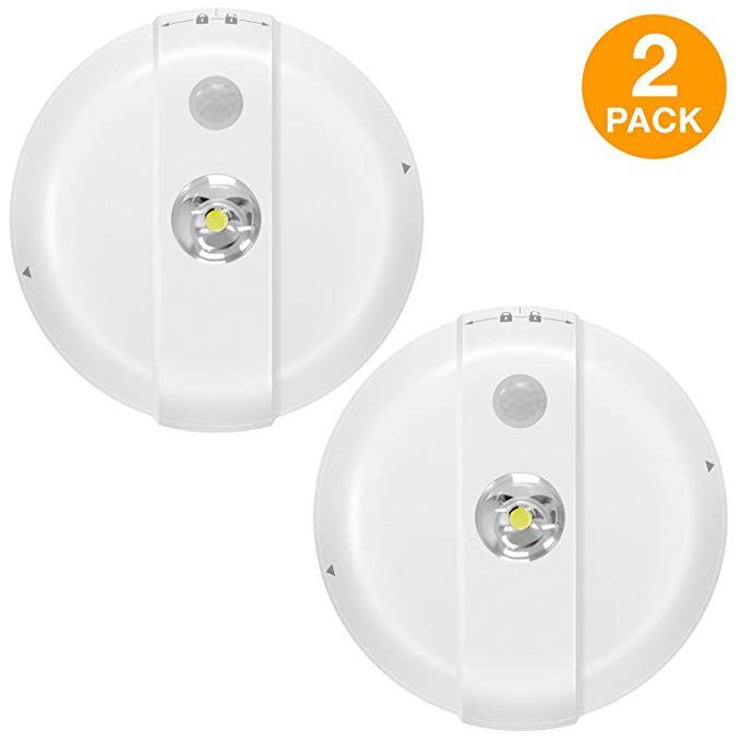 Topgreener Tgcsl360 2pcs Led Motion Sensor Light Wireless Ceiling Light Motion Sensor Ceiling Light Battery Light Sensor Motion Sensor Lights Motion Sensor