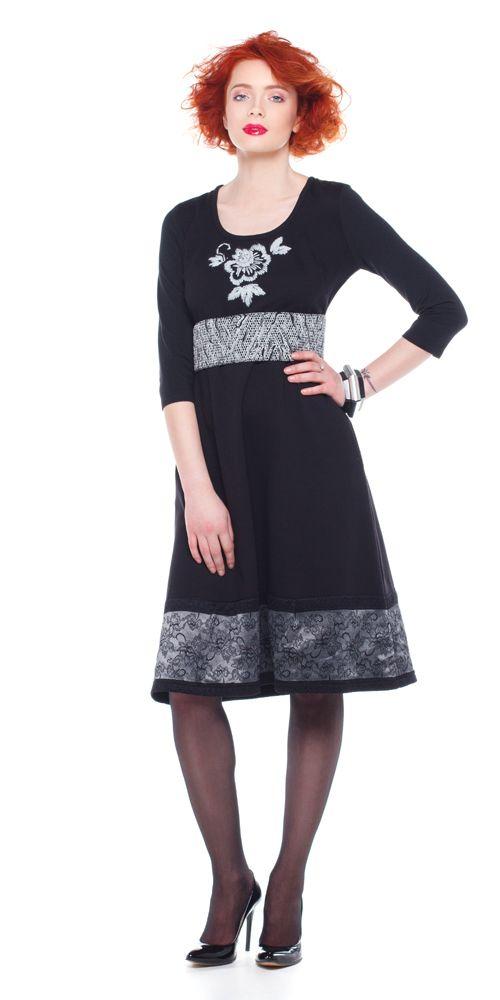 Rochie MARRIOTT, jerse negru