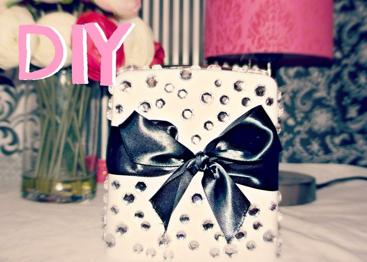 Cute Room Crafts: DIY Room Decor- Cute Tissue Box. Such A Simple Craft To