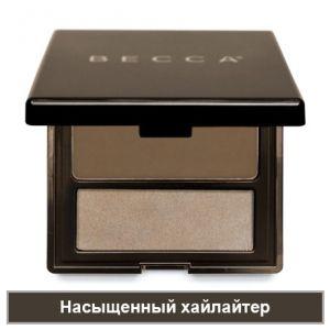 Lowlight/Highlight Perfecting Palette Poured - Палетта для выделения и подчеркивания контура лица - Насыщенный хайлайтер