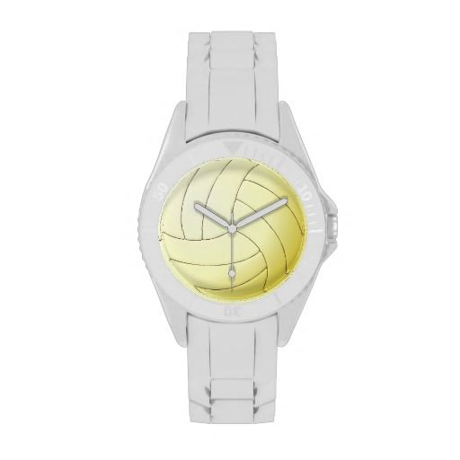 Volleyball Sporty Watch #volleyball #watch #sporty #fashion #accessories #cool #libero #sports #gifts