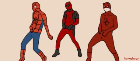 When I realize we're getting Daredevil Season 2, MCU Spider-Man, and a Deadpool movie in 2016. - What's Trending on Web: When I realize we're getting Daredevil Season 2, MCU Spider-Man, and a Deadpool movie in 2016.