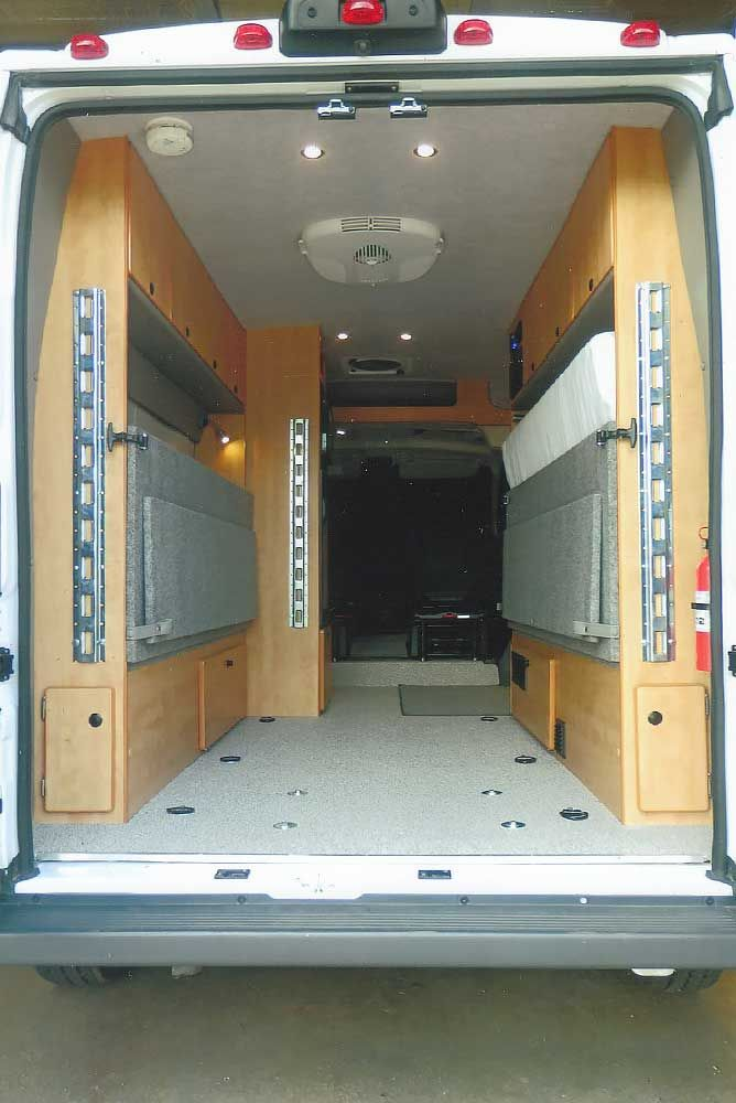 Sprinter DYO 7 Bunks and Platform Beds - Sportsmobile Custom Camper Vans