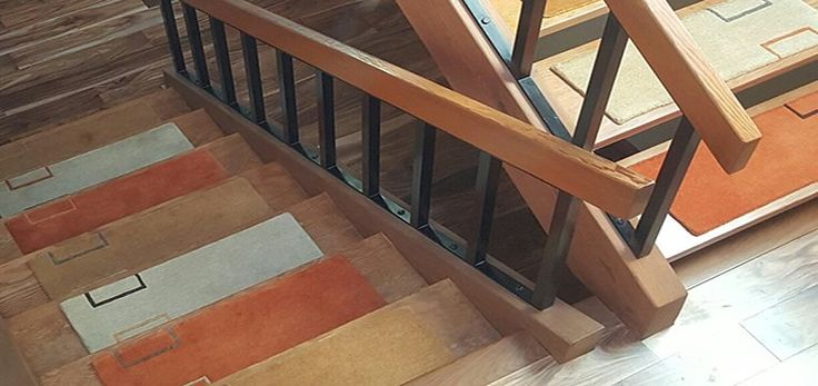 Alto Steps Stair Tread Rugs | Liza Phillips Design