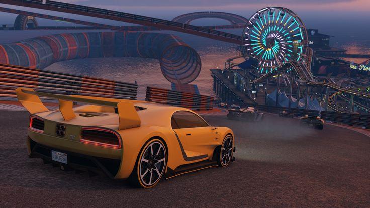 Evento de carreras acrobáticas de GTA Online: nuevas carreras, doble de GTA$, mono desbloqueable y más - Rockstar Games