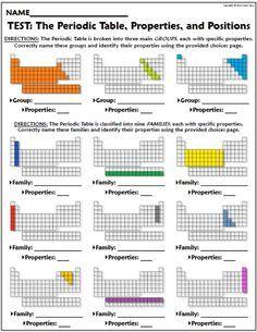 group 3 elements properties worksheet