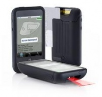 Datecs Linea-Pro 1D barcode scanner with credit card swipe for Apple iPhone 4