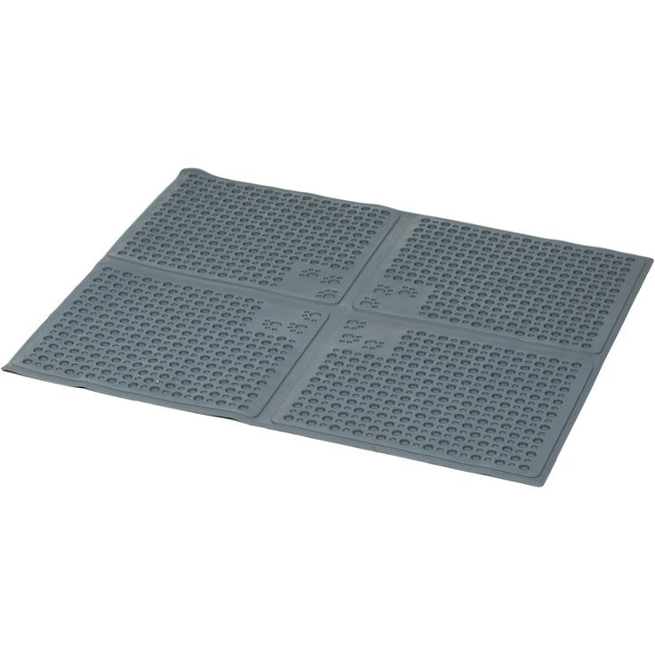"""Purr-fect Pet Purr-fect Paws Cat Litter Mat - 24""""L X 30""""W, The perfect solution to those unsightly cat litter box messes. Your cat will love the comfortable, pliable, soft feel of the mat's surface and really enjoy the continuous litter free area around the box. - http://www.petco.com/shop/en/petcostore/purr-fect-pet-purr-fect-paws-cat-litter-mat-5000743--1"""