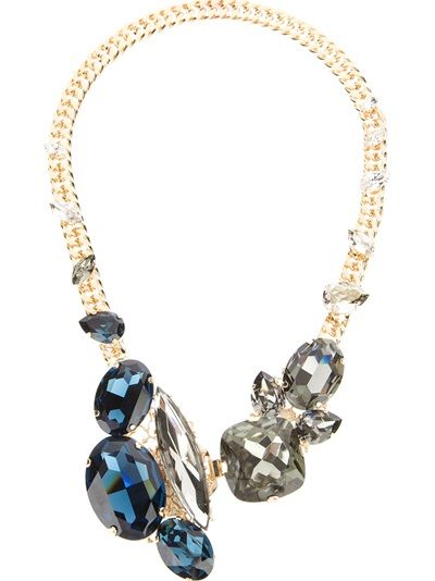 ANTON HEUNIS Swarovski Crystal Necklace