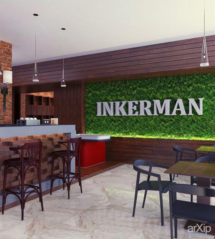 Design by Vitta-group INKERMAN: интерьер, минимализм, ресторан, кафе, бар, барная стойка, 80 - 100 м2 #interiordesign #minimalism #restaurant #cafeandbar #barcounter #80_100m2 arXip.com