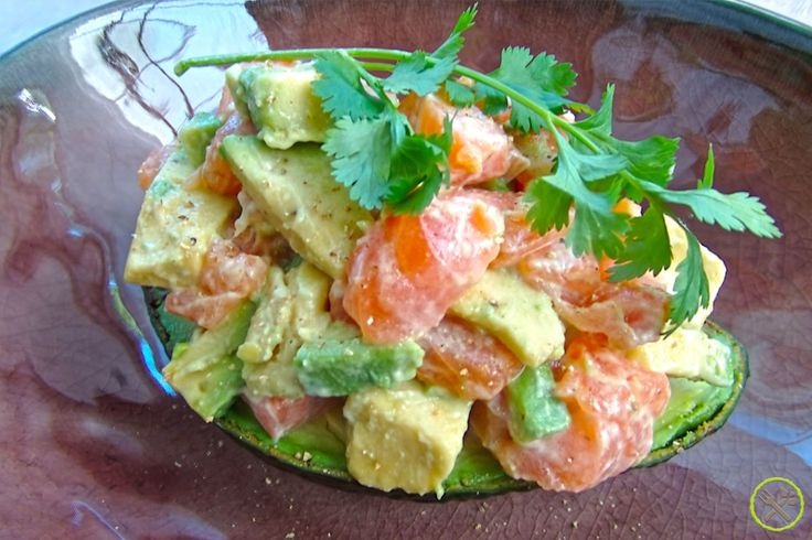 Een zomerse salade met een Japans tintje, lekker fris maar toch vullend. Vol…