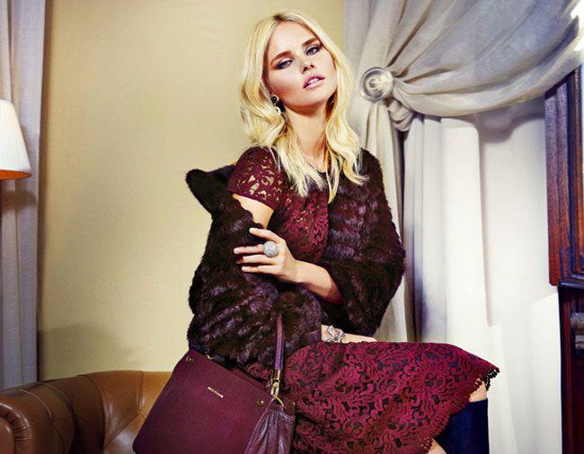 Luisa Spagnoli cerimonia 2016 collezione autunno inverno, Abiti eleganti 2016, Abiti pizzo 2016, Collezione abiti da cerimonia 2016
