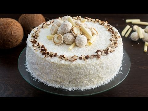 Almond Coconut Cake (Raffaello cake) :: Home Cooking Adventure