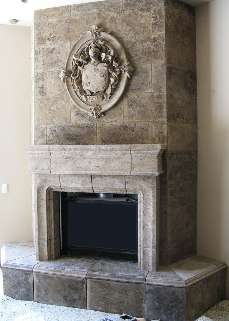 9 best images about Stone Fireplaces on Pinterest ...