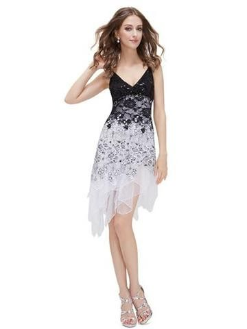MILLY 20's Gatsby Lace Flapper Dress - White - Belle Boutique UK