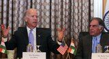 VP Joe Biden, in India, suggests his ancestors are Indian - 07/24/13 ... Biden suggested Wednesday to a crowd gathered at the Bombay Stock Exchange that his ancestry may in fact include Indian blood.  Read more: http://www.washingtontimes.com/news/2013/jul/24/vice-president-joe-biden-india-suggests-his-ancest/#ixzz2a3TA5uZE  Follow us: @The Washington on Twitter