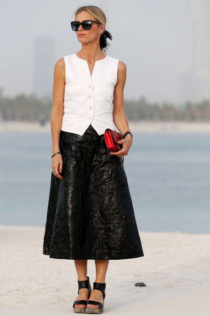 Laura Bailey at Chanel - Pre Spring/Summer 2015