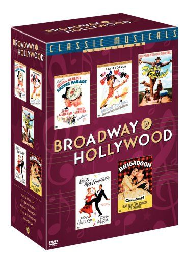 The Classic Musicals Collection: Broadway to Hollywood (Easter Parade Two Disc Special Edition / The Band Wagon Two Disc Special Edition / Bells Are Ringing / Finian's Rainbow / Brigadoon) Broadway http://smile.amazon.com/dp/B0007939PW/ref=cm_sw_r_pi_dp_fo80vb1578FCP