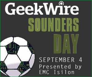 A few Marchexers are going to the game today. Go SOUNDERS!  And a big thank you to GeekWire for putting on this awesome event.