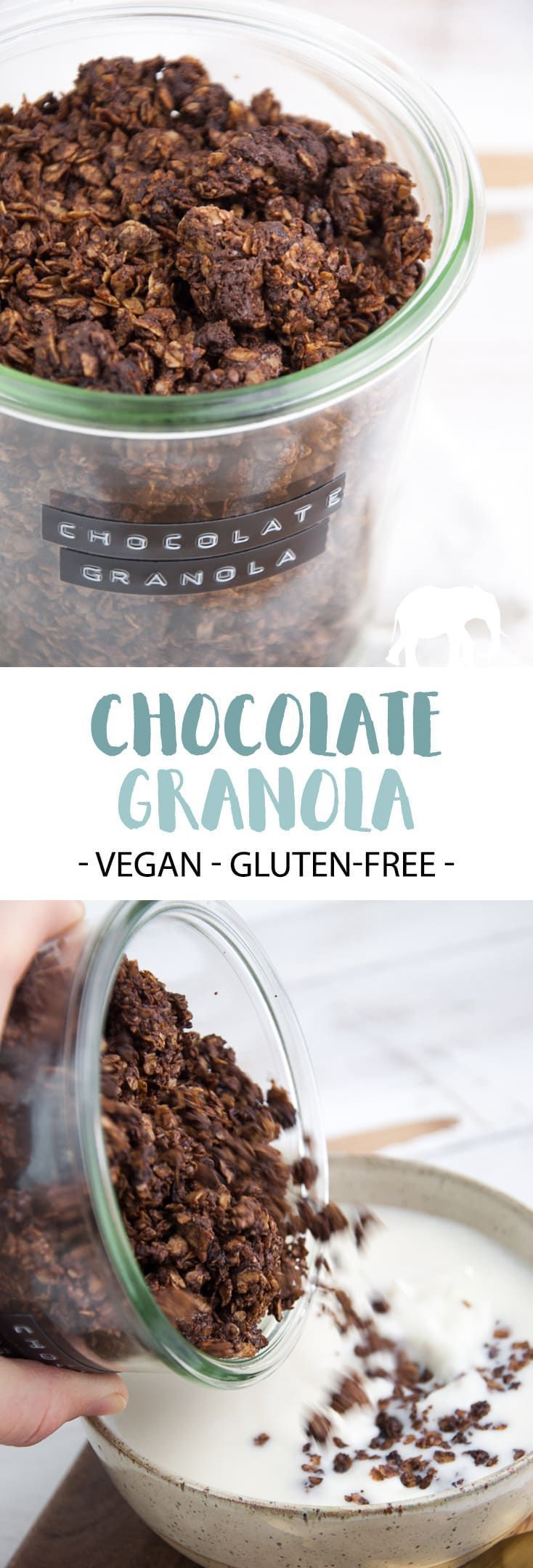 Chocolate Granola – It's so easy to make your very own granola! You'll only need…