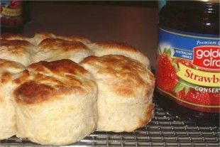 scones...so easy to make. Don't buy them. Delia Smith's recipe is the best