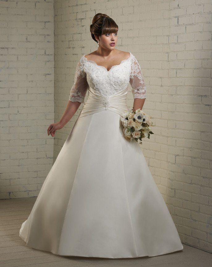 790 best wedding dresses plus size images on pinterest for Plus size wedding dresses minneapolis mn