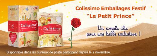 """Colissimo Emballages Festif """"Le Petit Prince"""" Un simple clic pour une belle initiative !"""