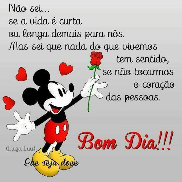 Bom Dia Flores Do Meu Dia Que Deus Abençoe Cada Um De Vocês Bom