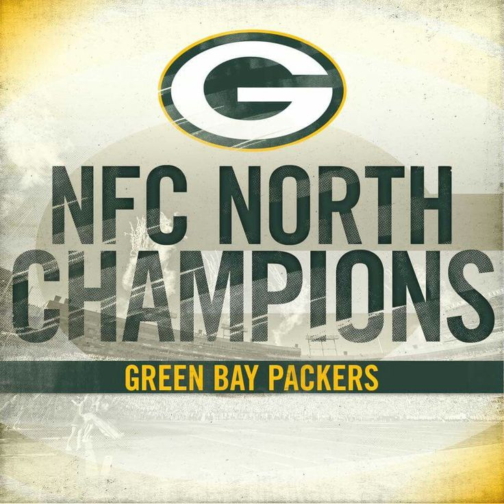 Congratulations to the 2016 NFC North Champion Green Bay Packers.