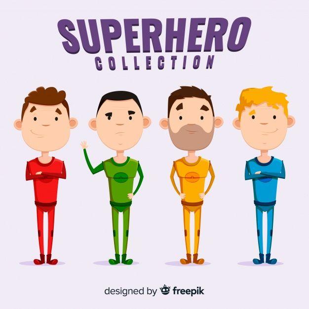 Dessin Super Heros