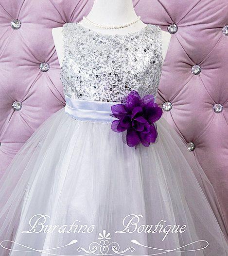 17 Best ideas about Silver Flower Girl Dresses on Pinterest ...