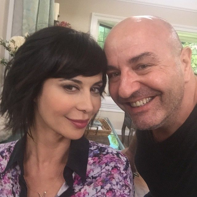 Thanks for the gorgeous makeup @patrickdefontbrune and hair @cjdujic & styling @sophiabanksc  for @hallmarkchannel Home & Family show ! #GoodWitch
