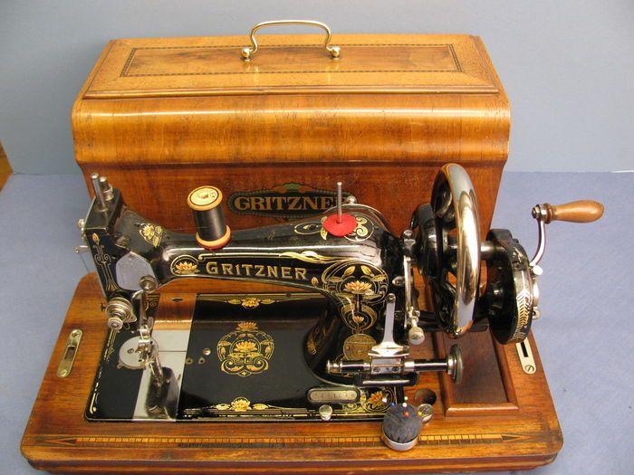 Online veilinghuis Catawiki: Gritzner - antieke naaimachine, eerste helft 20e eeuw, Duitsland