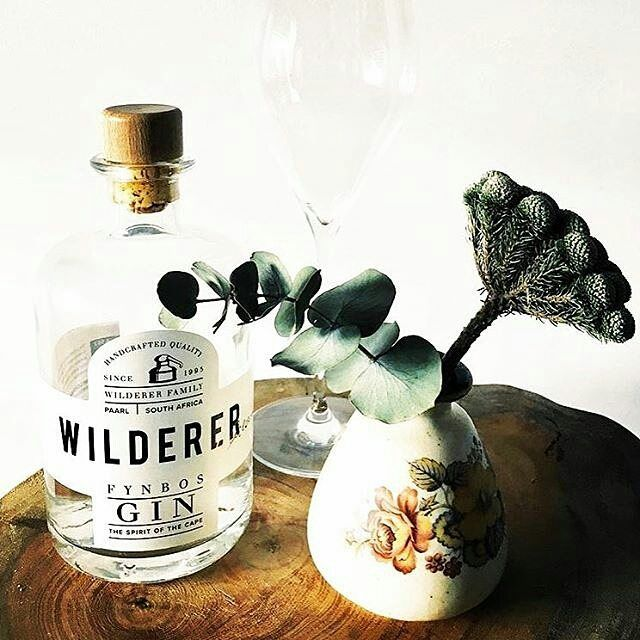 One @wilderer_sa G&T please.  After all the #blackfriday shopping. We are enjoying a fynbos G&T.