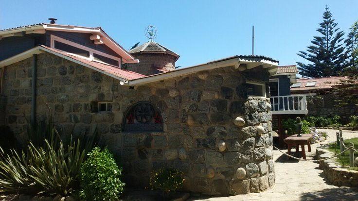Casa del poeta Pablo Neruda,isla Negra,CHile.