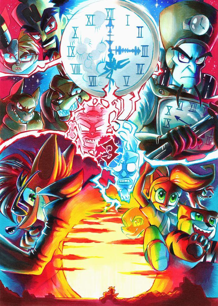 Crash Bandicoot 3: Warped by Strixic