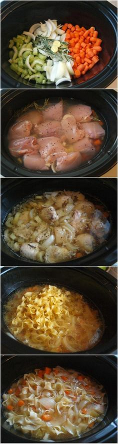 Crockpot Chicken Noodle Soup Recipe. | best stuff