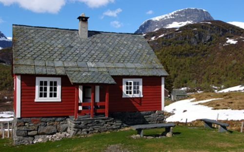 Cabin (hytte) in Norway: Mountain Cabins,  Thatched Roof, Cabins Hytt, Tiny Houses, Norwegian Cabins, Dreams Cabinstini, Tiny Cabins, Norwegian Tiny, Dreams Cabins Tiny