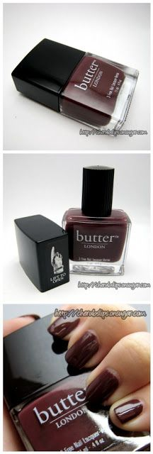 Swatch Series: Butter London nail polish in Tramp Stamp | Whimsical Perfection
