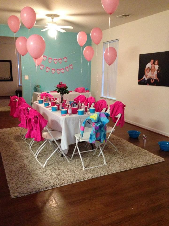 The 47 best Pamper party images on Pinterest | Birthday party ideas ...